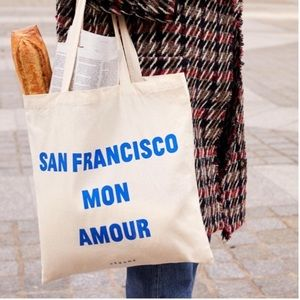 NEW Sezane San Francisco Tote